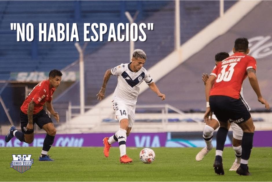 """""""NO HABÍA ESPACIOS"""""""